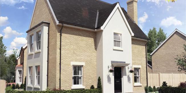 £374,950, 4 Bedroom Detached House For Sale in Bedfordshire, SG18