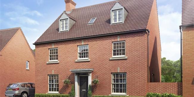 £565,995, 5 Bedroom Detached House For Sale in Brackley, NN13