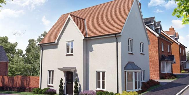 £439,950, 3 Bedroom Detached House For Sale in Walpole Meadows, CM24