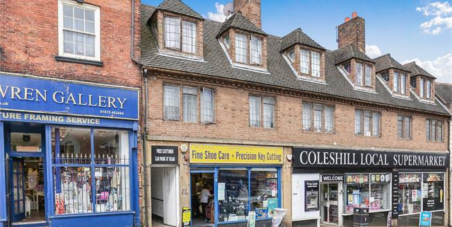 Offers Over £150,000, 3 Bedroom Flat For Sale in Coleshill, B46
