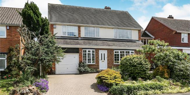 Offers Over £400,000, 4 Bedroom Detached House For Sale in Coleshill, B46