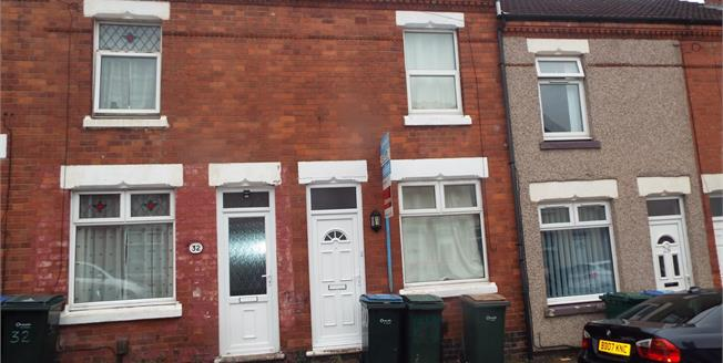 £160,000, 2 Bedroom Terraced House For Sale in Coventry, CV1