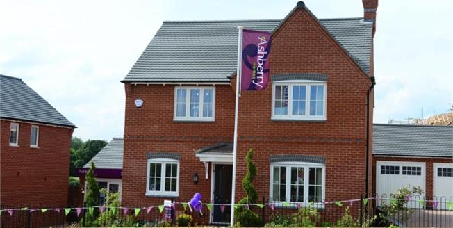 £365,000, 4 Bedroom Detached House For Sale in Ashby de La Zouch, LE65