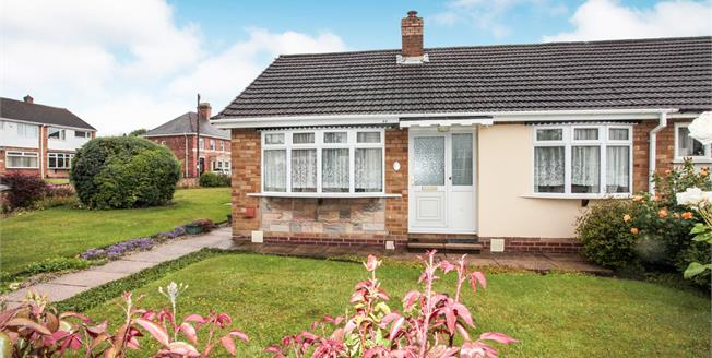 Offers Over £220,000, 2 Bedroom Semi Detached Bungalow For Sale in Tamworth, B77