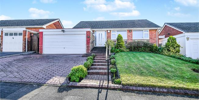 Offers Over £390,000, 3 Bedroom Detached Bungalow For Sale in Walsall, WS5