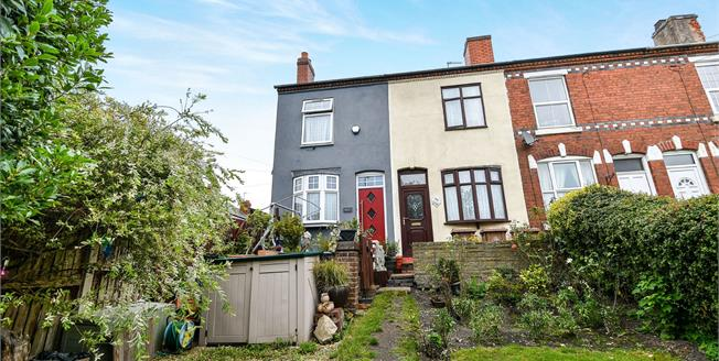 Offers Over £110,000, 2 Bedroom Terraced House For Sale in Walsall, WS2