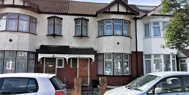 Offers Over £400,000, 3 Bedroom Terraced House For Sale in Ilford, IG1