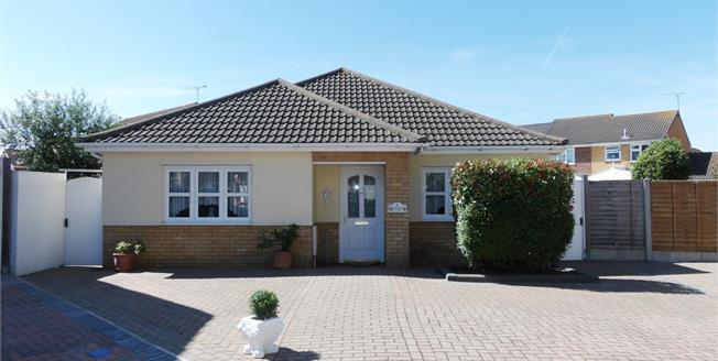 Asking Price £490,000, 2 Bedroom Detached Bungalow For Sale in Wickford, SS12