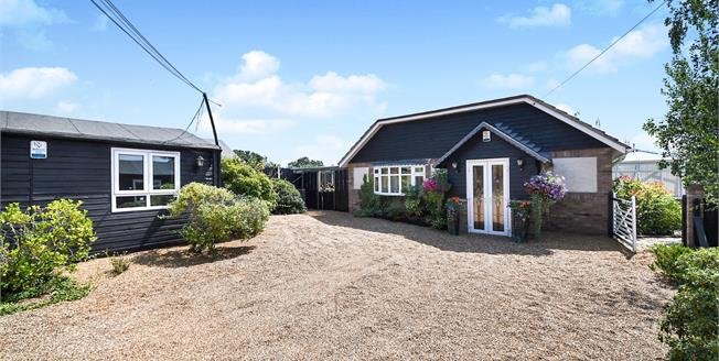 Offers in excess of £700,000, 3 Bedroom Detached Bungalow For Sale in Crays Hill, CM11
