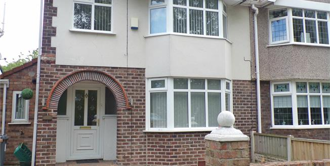 Offers Over £190,000, 4 Bedroom House For Sale in Liverpool, L21