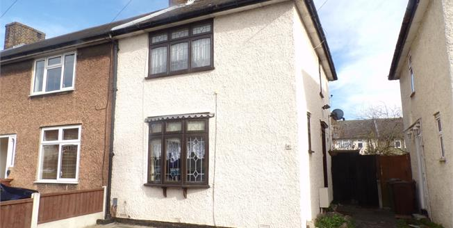 Offers Over £300,000, 2 Bedroom End of Terrace House For Sale in Dagenham, RM8