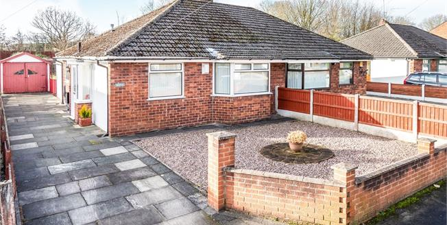 Offers in excess of £220,000, 2 Bedroom Semi Detached Bungalow For Sale in Culcheth, WA3