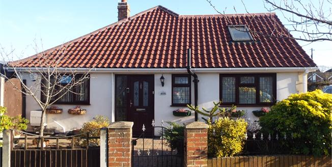 Guide Price £300,000, 2 Bedroom Semi Detached Bungalow For Sale in Hullbridge, SS5