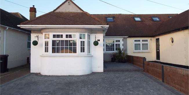 Guide Price £375,000, 4 Bedroom Semi Detached Bungalow For Sale in Rayleigh, SS6