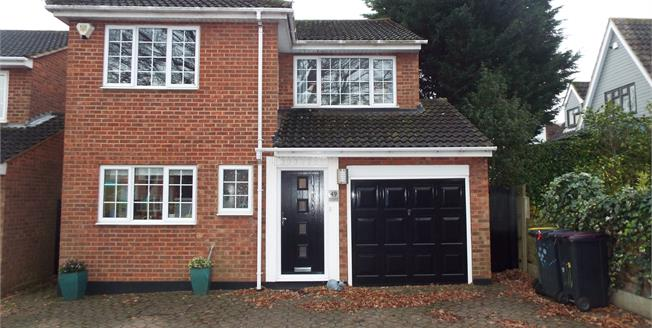 Asking Price £575,000, 4 Bedroom Detached House For Sale in Hockley, SS5