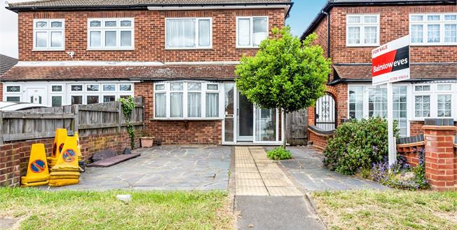 Guide Price £375,000, 3 Bedroom Terraced House For Sale in Rainham, RM13