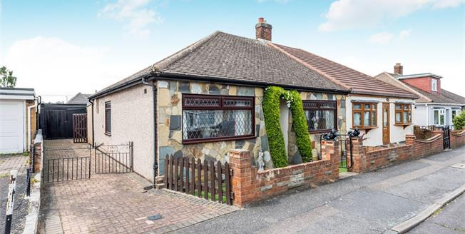 Guide Price £395,000, 3 Bedroom Semi Detached Bungalow For Sale in Rainham, RM13