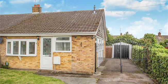 Offers in the region of £165,000, 3 Bedroom Semi Detached Bungalow For Sale in Bradwell, NR31