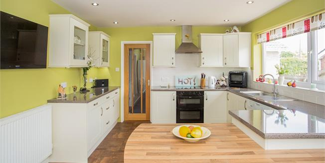 Guide Price £369,995, 5 Bedroom Detached Bungalow For Sale in Blundeston, NR32