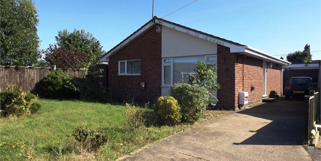 Offers Over £180,000, 2 Bedroom Detached Bungalow For Sale in Bradwell, NR31