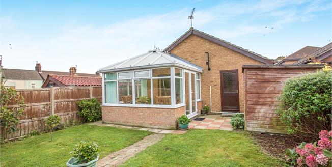 Offers Over £190,000, 3 Bedroom Detached Bungalow For Sale in Gorleston, NR31
