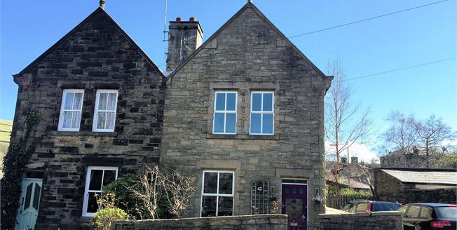 Offers Over £300,000, 3 Bedroom Semi Detached House For Sale in Hayfield, SK22