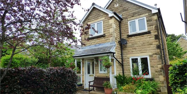 Guide Price £260,000, 3 Bedroom Detached House For Sale in Whaley Bridge, SK23