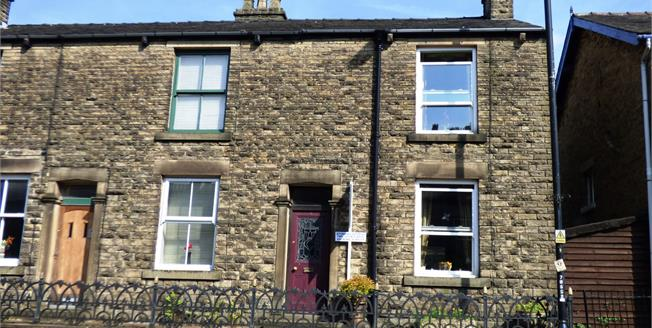 Guide Price £149,995, 2 Bedroom Terraced House For Sale in Whaley Bridge, SK23