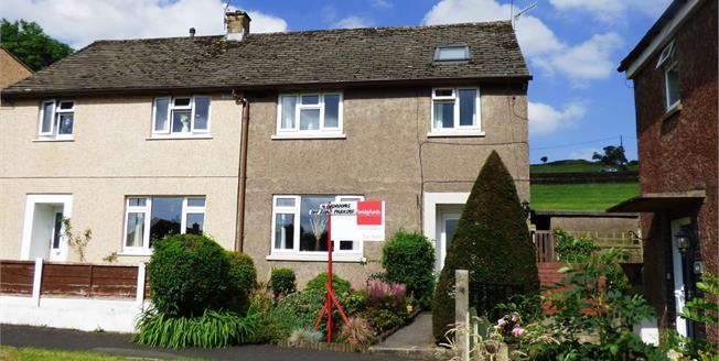 Guide Price £190,000, 4 Bedroom Semi Detached House For Sale in Hayfield, SK22