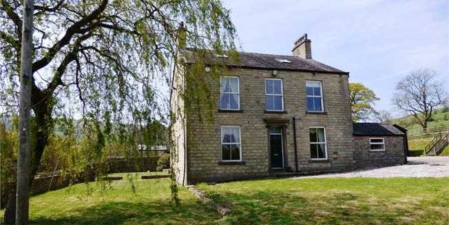 Guide Price £750,000, 5 Bedroom Detached House For Sale in Furness Vale, SK23
