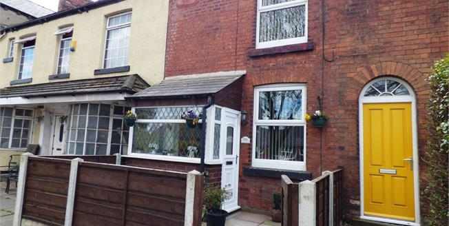Guide Price £135,000, 2 Bedroom Terraced House For Sale in Disley, SK12