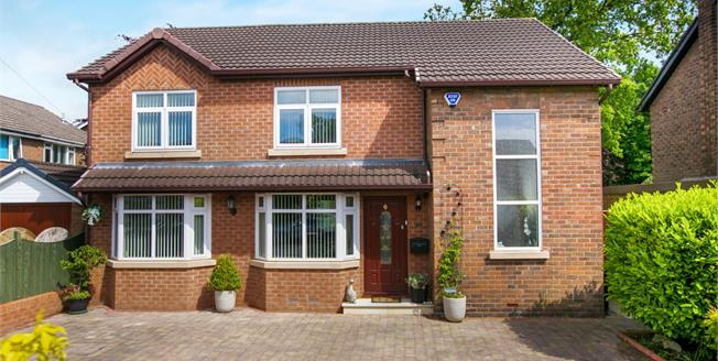 Guide Price £415,000, 4 Bedroom Detached House For Sale in High Lane, SK6