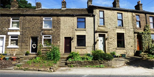 Offers Over £120,000, 2 Bedroom Terraced House For Sale in Little Hayfield, SK22