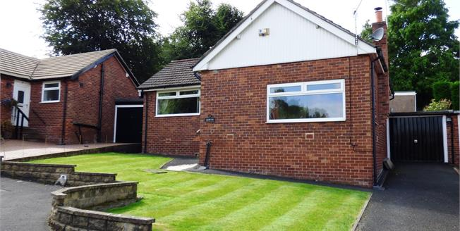 Guide Price £250,000, 3 Bedroom Detached Bungalow For Sale in Disley, SK12