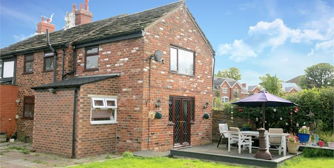 Guide Price £280,000, 3 Bedroom End of Terrace House For Sale in High Lane, SK6