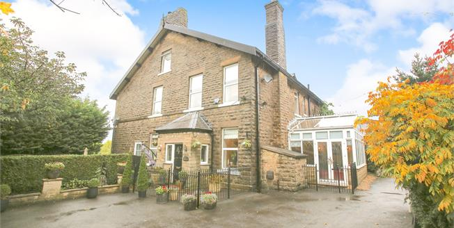 Guide Price £430,000, 3 Bedroom Semi Detached House For Sale in New Mills, SK22