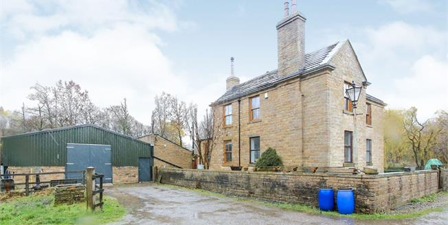 Offers in the region of £775,000, 4 Bedroom Detached House For Sale in Glossop, SK13
