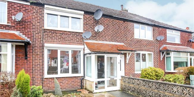 Guide Price £170,000, 2 Bedroom Terraced House For Sale in New Mills, SK22