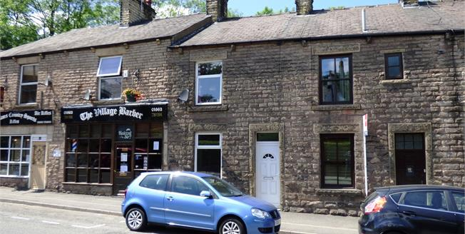 Guide Price £145,000, 2 Bedroom Terraced House For Sale in Whaley Bridge, SK23