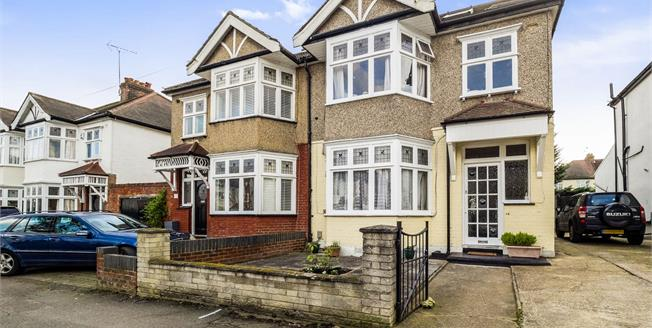 Guide Price £800,000, 5 Bedroom Semi Detached House For Sale in Woodford Green, IG8