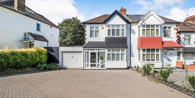 Offers in excess of £600,000, 3 Bedroom Semi Detached House For Sale in Woodford Green, IG8