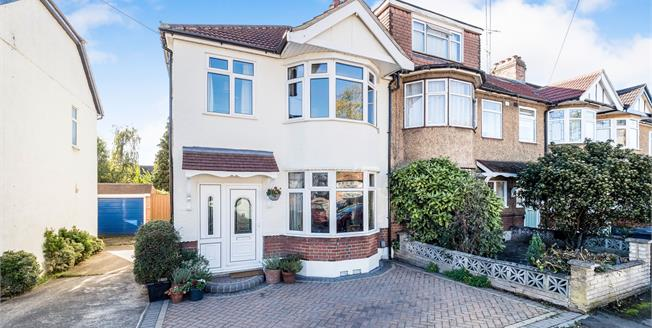Offers in excess of £525,000, 3 Bedroom Semi Detached House For Sale in Woodford Green, IG8
