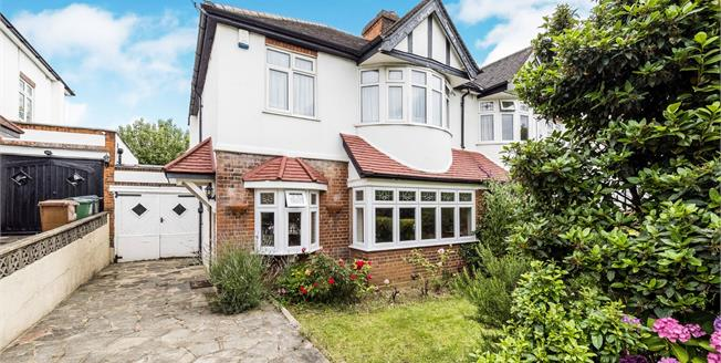 Guide Price £690,000, 3 Bedroom Semi Detached House For Sale in London, E4
