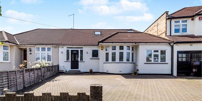 Offers in excess of £670,000, 4 Bedroom Semi Detached Bungalow For Sale in London, E4