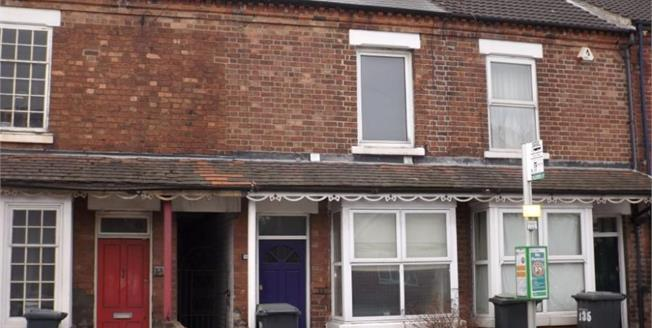 Asking Price £123,000, 2 Bedroom Terraced House For Sale in Beeston, NG9