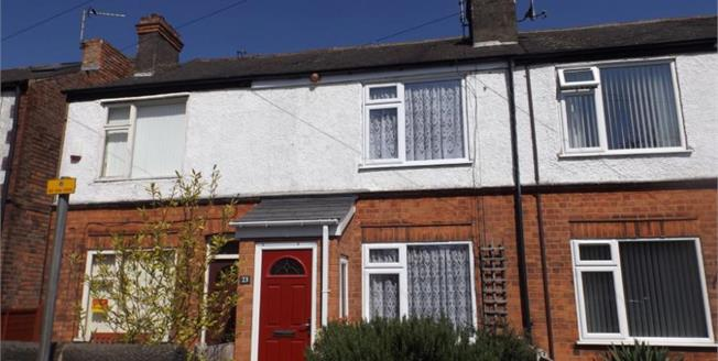 £150,000, 2 Bedroom Terraced House For Sale in Beeston, NG9