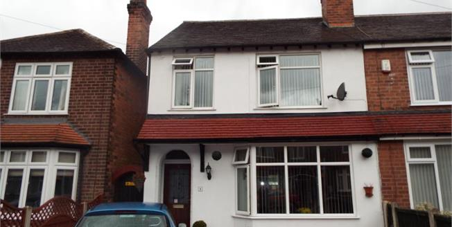 Asking Price £140,000, 3 Bedroom Semi Detached House For Sale in Stapleford, NG9