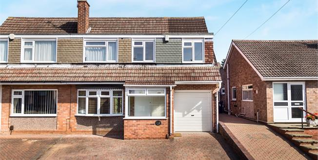 Asking Price £189,950, 4 Bedroom Semi Detached House For Sale in Stapleford, NG9