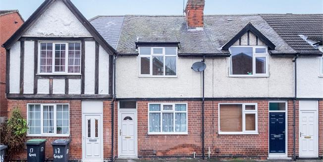 Offers Over £127,000, 2 Bedroom Terraced House For Sale in Beeston, NG9