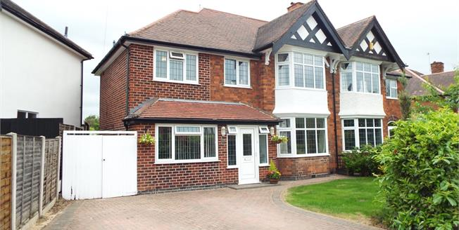Offers in the region of £336,000, 4 Bedroom Semi Detached House For Sale in Beeston, NG9